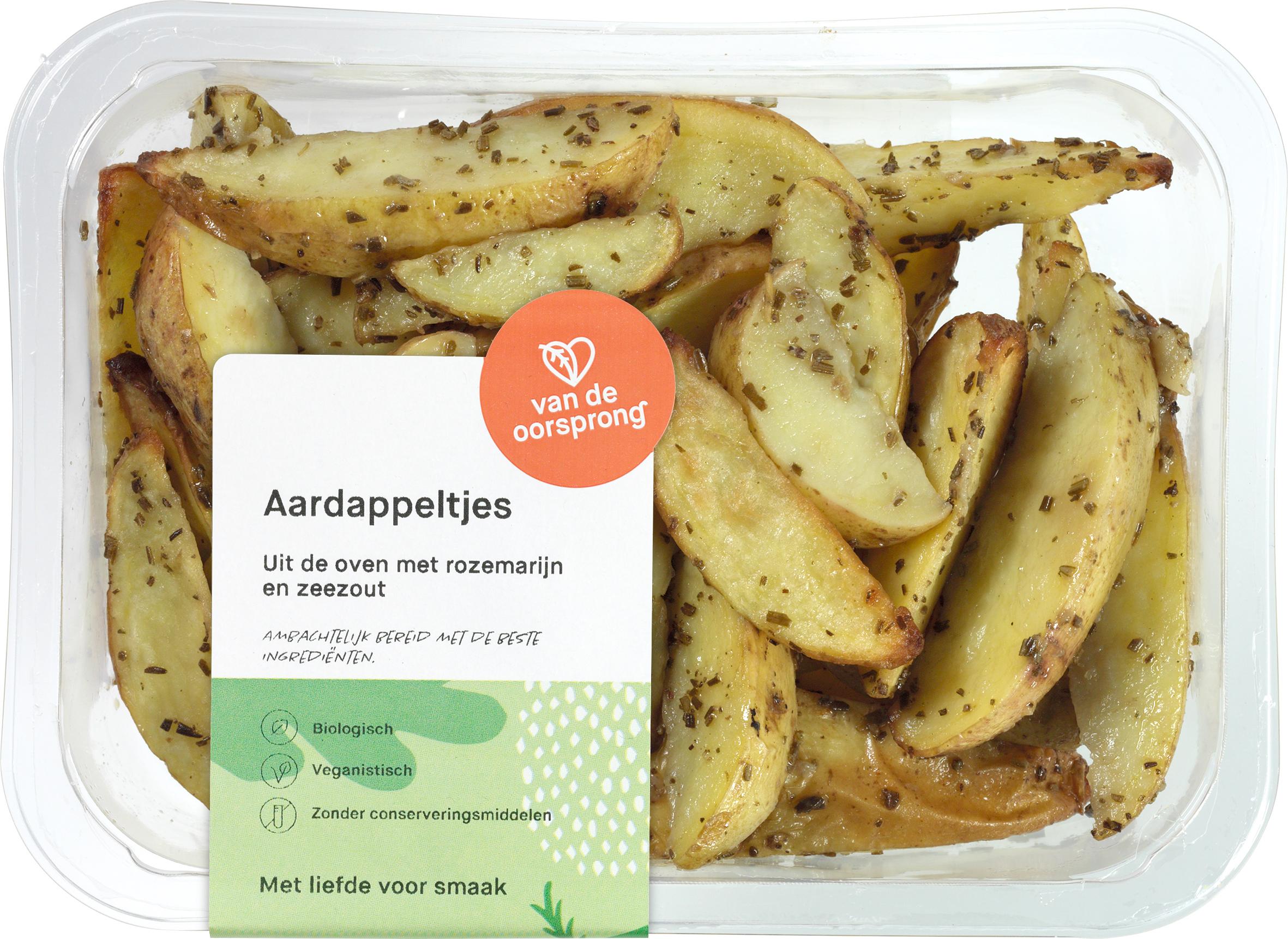 Gepofte aardappels