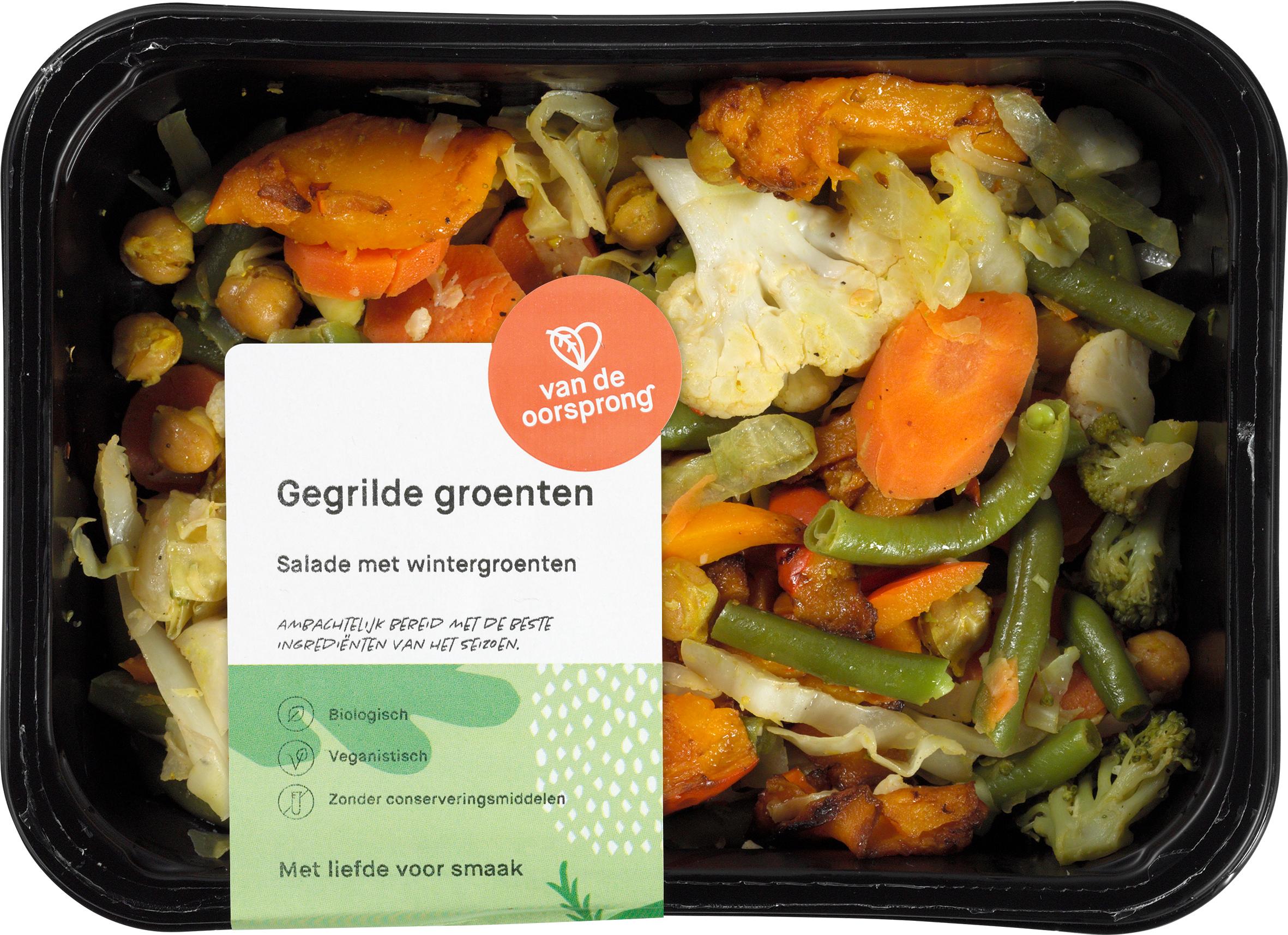 Salade gegrilde groente