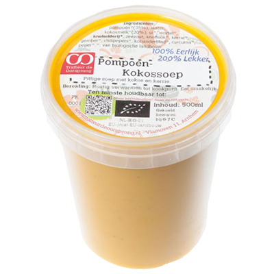 Pompoen-kokossoep