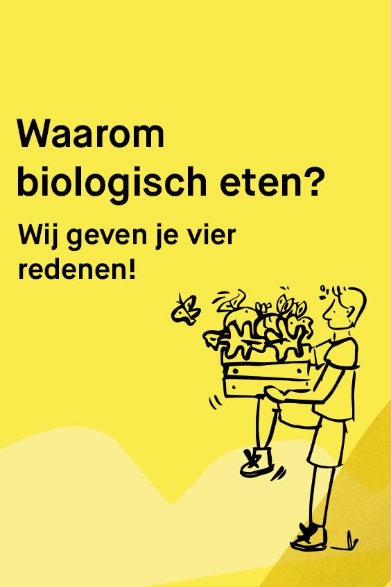 Waarom biologisch eten website artikel